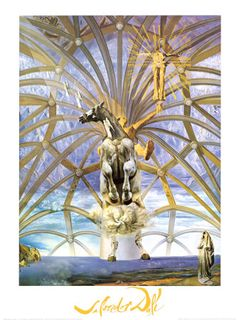 Salvador Dali - religiously themed surrealistic art
